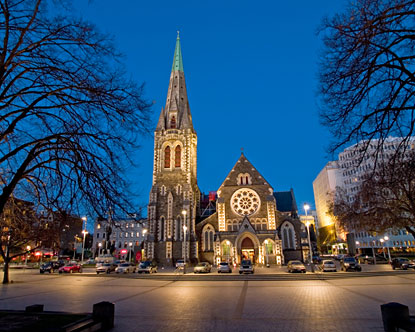 New Zealand's Christchurch